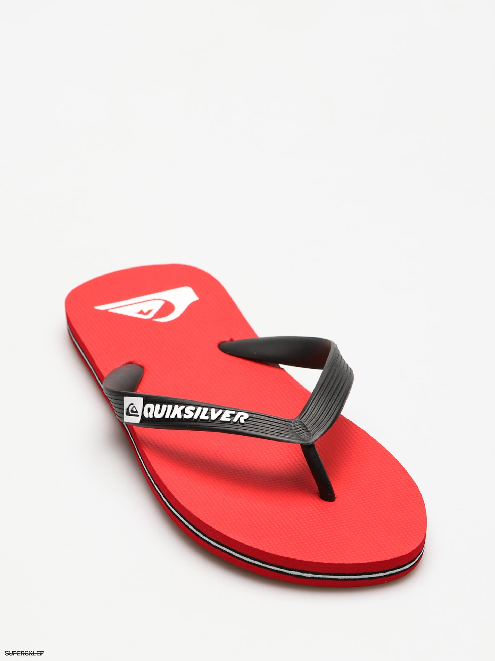 Japonki Quiksilver Molokai (black/red/white)