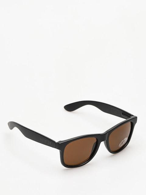 Okulary przeciwsłoneczne Majesty Shades L (black/black brown lens)