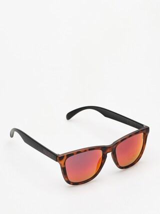 Okulary przeciwsu0142oneczne Majesty Shades M (tortoise/black red mirror lens)