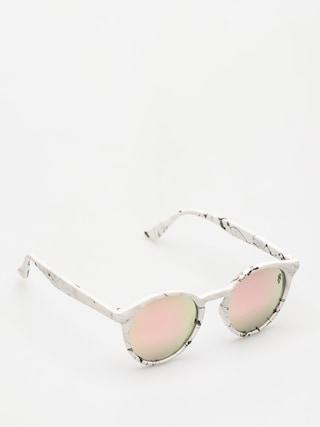 Okulary przeciwsłoneczne Majesty Lynx (marble/pink gold mirror lens)