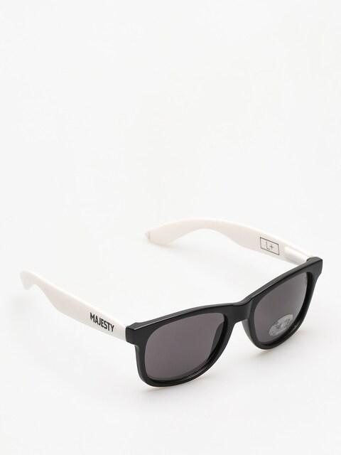 Okulary przeciwsłoneczne Majesty Shades L (black/white smoke lens)