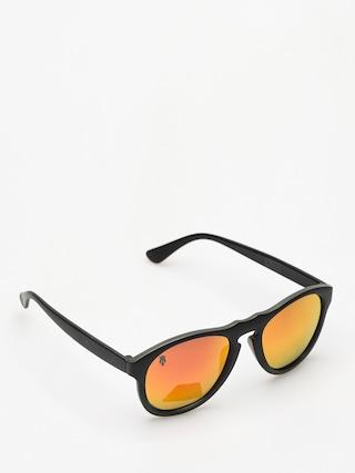 Okulary przeciwsłoneczne Majesty Crux (black/graphite red mirror lens)