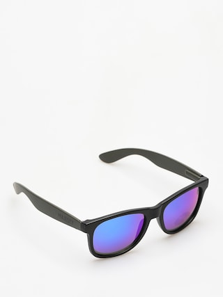 Okulary przeciwsłoneczne Majesty Shades L (black/graphite blue mirror lens)