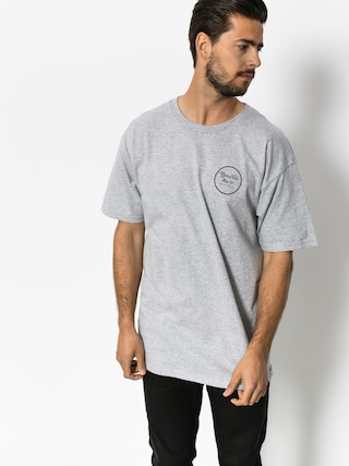 T-shirt Brixton Wheeler II Stnd (heather grey)