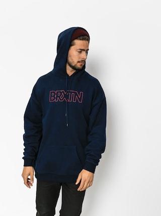 Bluza z kapturem Brixton Edison HD (navy)