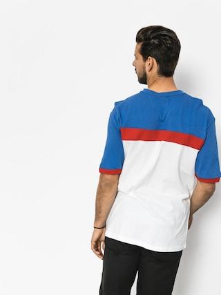 T-shirt Brixton Substance Knit (white/royal)