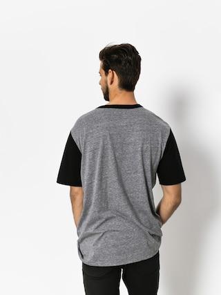 T-shirt Brixton Stith Henley (heather grey/black)