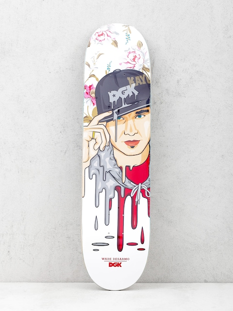 Deck DGK Desarmo Murked (white/red)