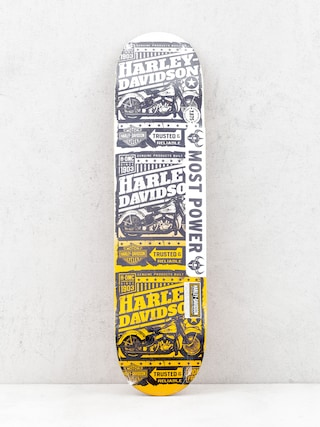 Deck Darkstar Harley Davidson Ride Free (orange fade)