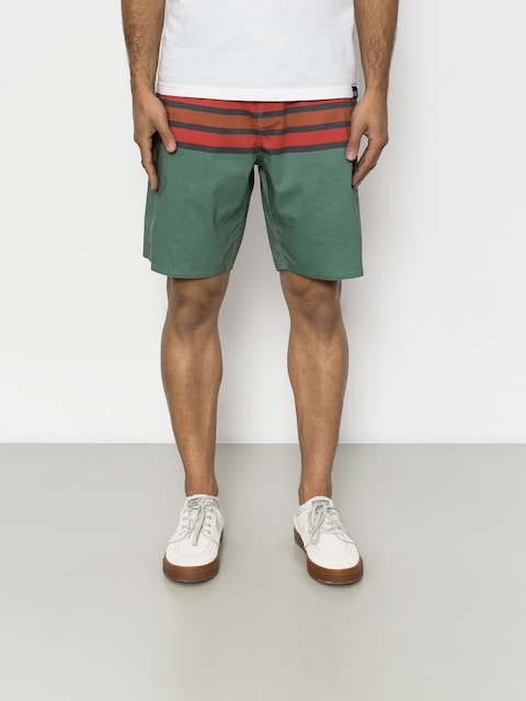 Boardshorty Brixton Barge Stripe Trunk (jade)