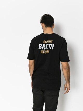 T-shirt Brixton Garth II Prt (black/gold)