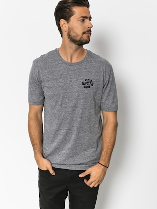 T-shirt Brixton Garth II Prt (heather grey)