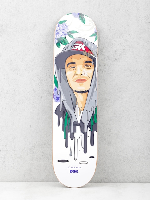 Deck DGK Kalis Murked (white/purple)