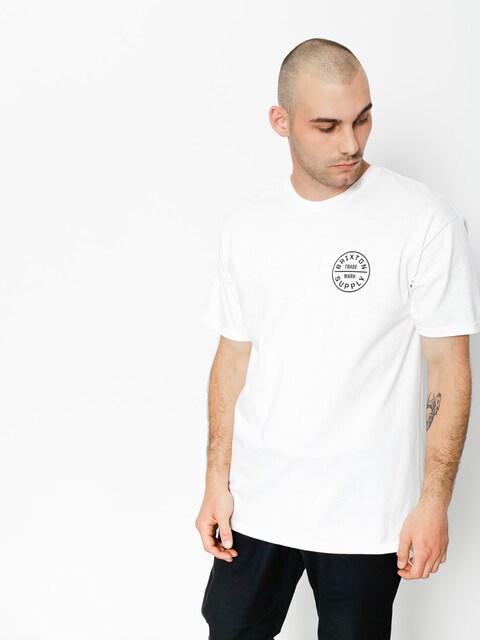 T-shirt Brixton Oath Stt (white/black)