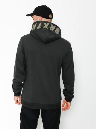 Bluza z kapturem Brixton Fang Intl HD (washed black)