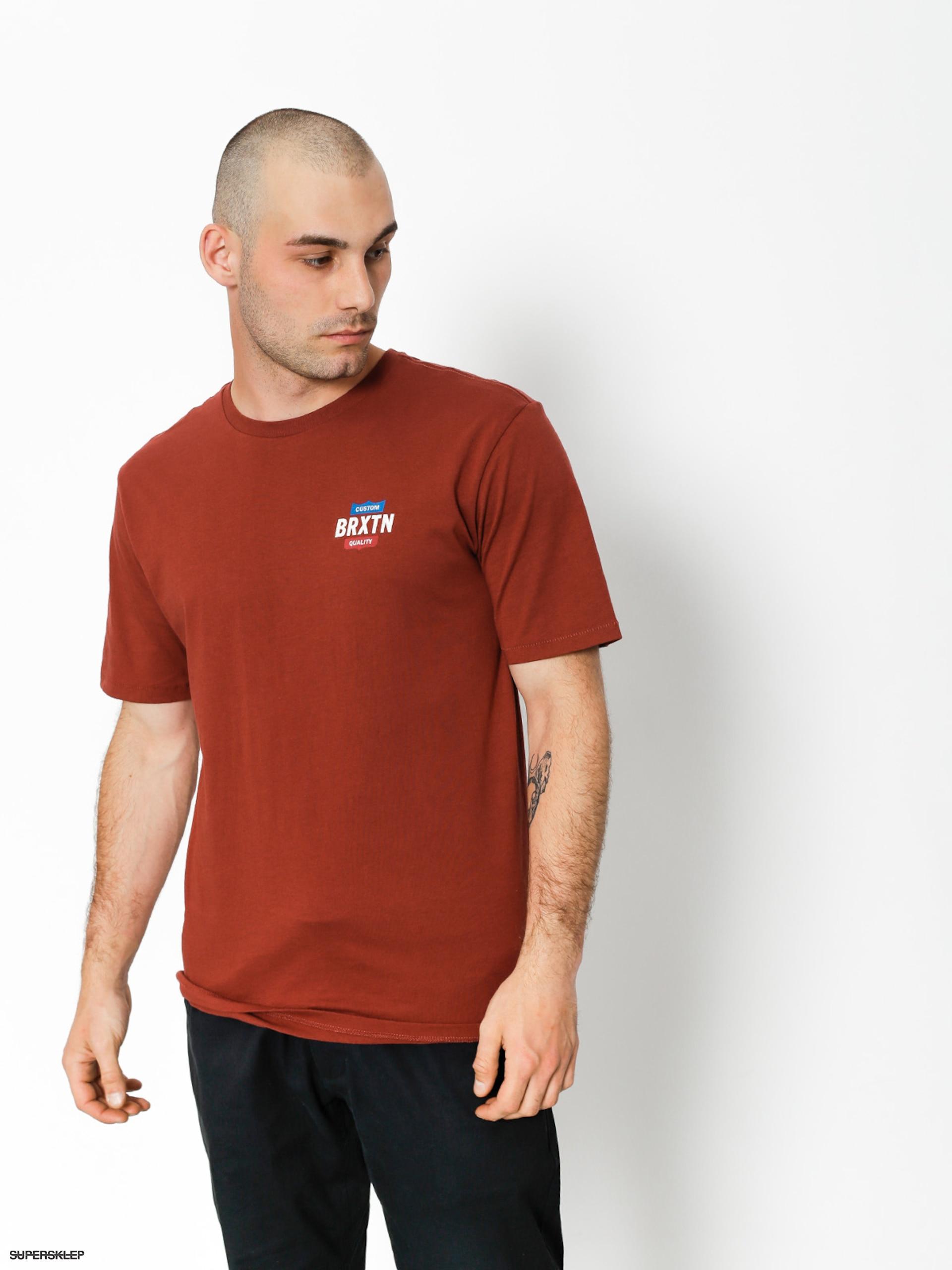 T-shirt Brixton Garth II Prt (brick)