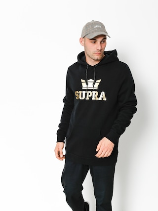 Bluza z kapturem Supra Above HD (black/gold)