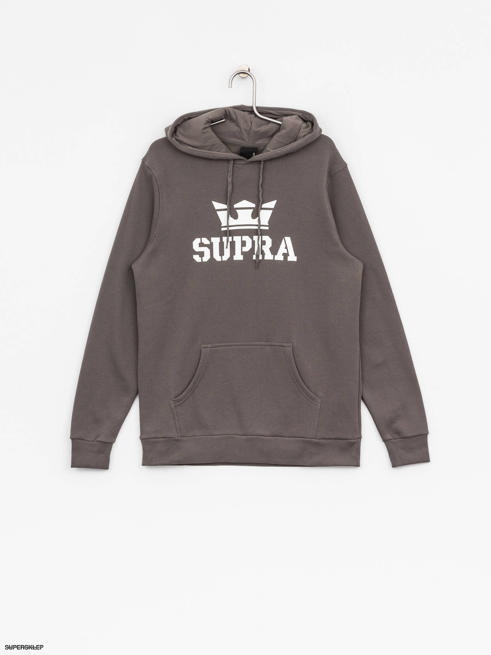 Bluza z kapturem Supra Above HD (charcoal/white white)