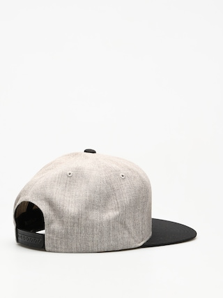 Czapka z daszkiem Brixton Oath III Snap (heather grey/black)