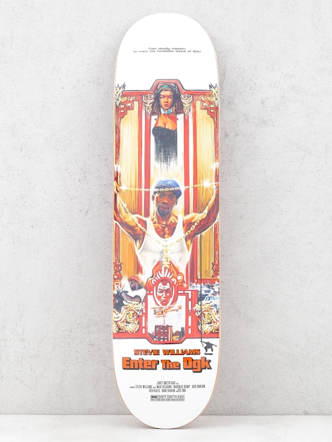 Deck DGK Kung Fu (stevie williams)