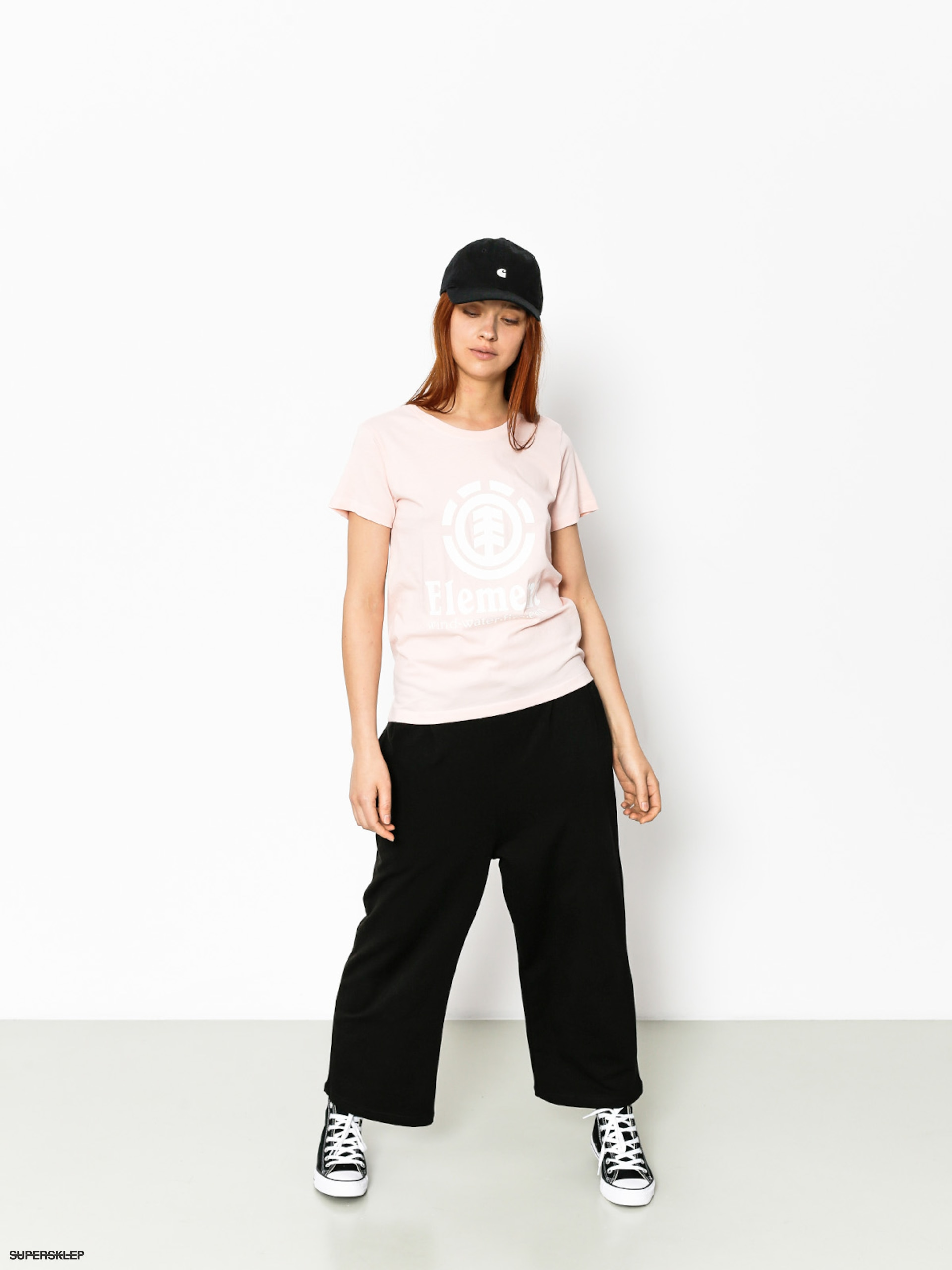 T-shirt Element Element Vertical Wmn (rose quartz)