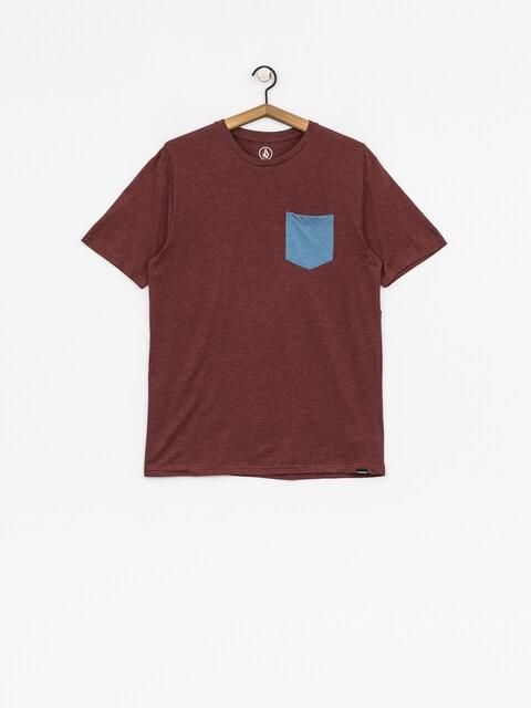 T-shirt Volcom Pocket Hth