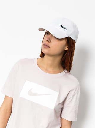 T-shirt Nike Drop Tail Swsh Pk Wmn (barley rose/white)