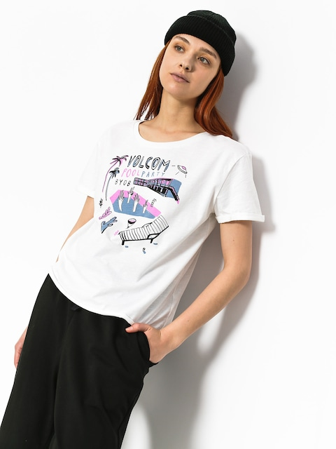 T-shirt Volcom Ride The Stone Wmn (wht)