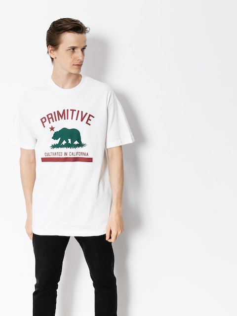 T-shirt Primitive Cultivated Solid (white)