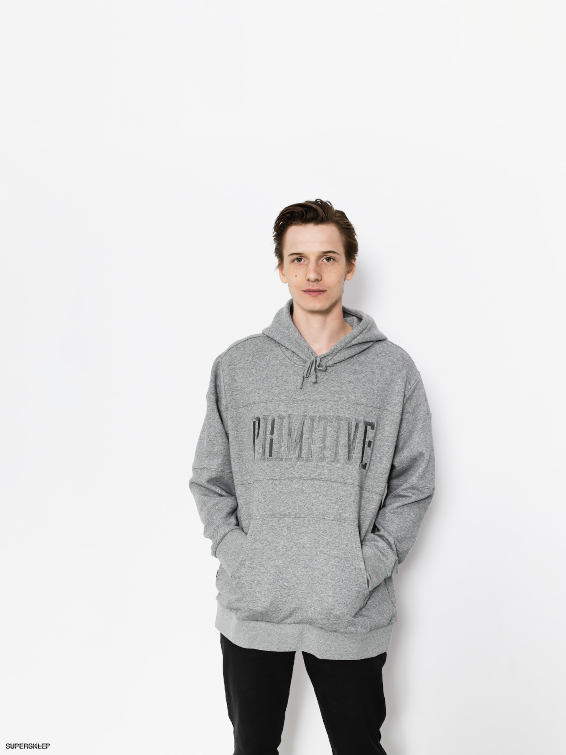 Bluza z kapturem Primitive League Paneled HD