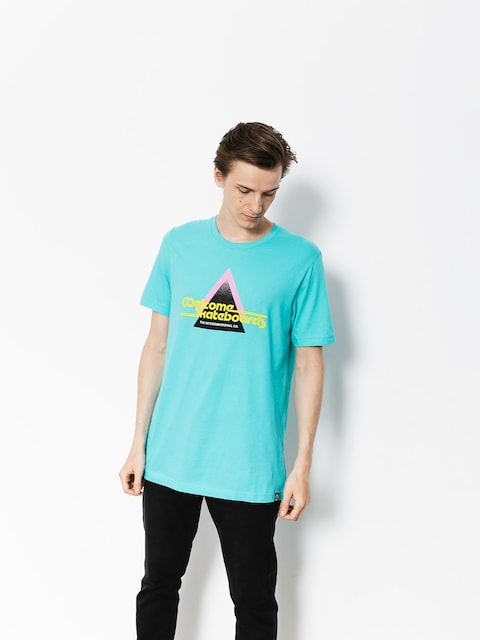 T-shirt Welcome Interdimensional (teal)