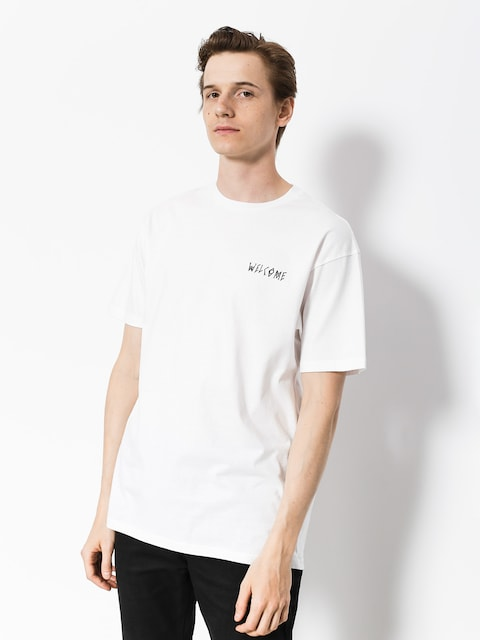 T-shirt Welcome Talisman (white/black)