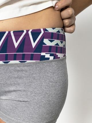 Szorty Roxy Own It Short Wmn (grey/purple/multi)
