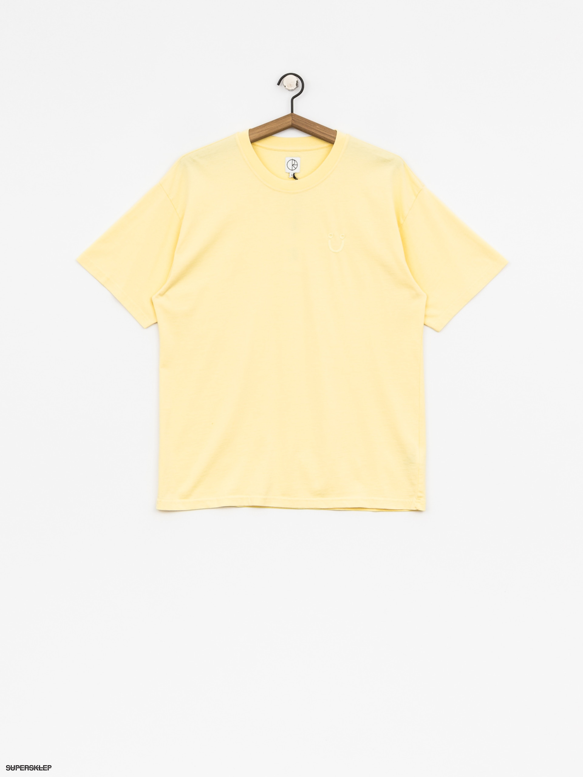 T-shirt Polar Skate Happy Sad Garment Dyed (light yellow)