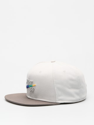Czapka z daszkiem Nike SB Sb Icon Snapback ZD (light bone/ridgerock/multi color)