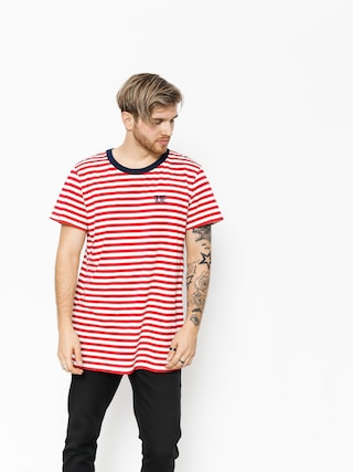 T-shirt The Hive Stripes Logo (navy/red/white)