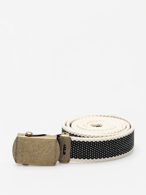 Pasek Brixton Edwards (black/cream)