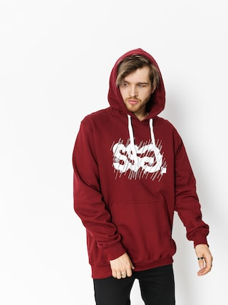 Bluza z kapturem SSG Cut HD (burgundy)