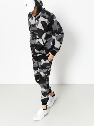 Bluza z kapturem Stoprocent Camo (black)