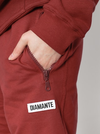 Szorty Diamante Wear Burgund Classy (burgundy)