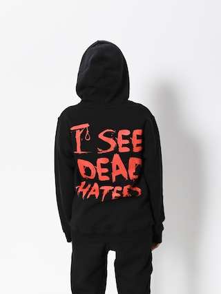 Bluza z kapturem Diamante Wear I See Dead Haters HD (black/red)