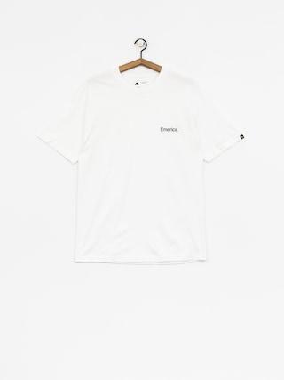 T-shirt Emerica Pure Embroidery (white)