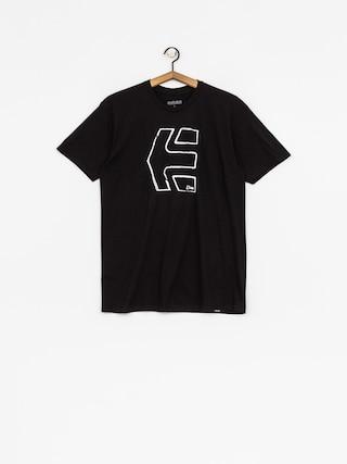 T-shirt Etnies Sketch Outline (black)