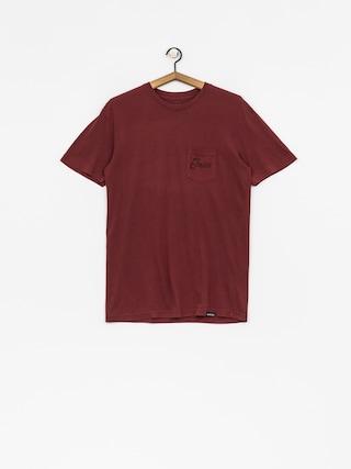 T-shirt Etnies Bottlecap (burgundy)