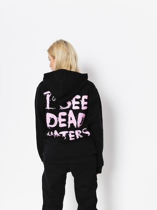 Bluza z kapturem Diamante Wear I See Dead Haters HD (black/pink)