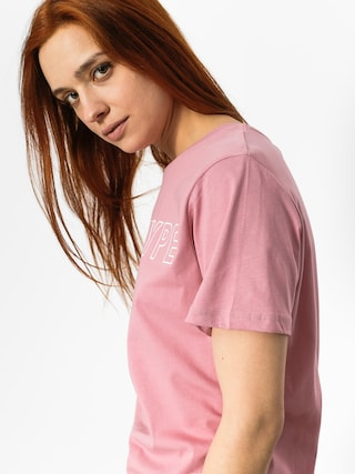 T-shirt Hype Justhype Wmn (pink/white)