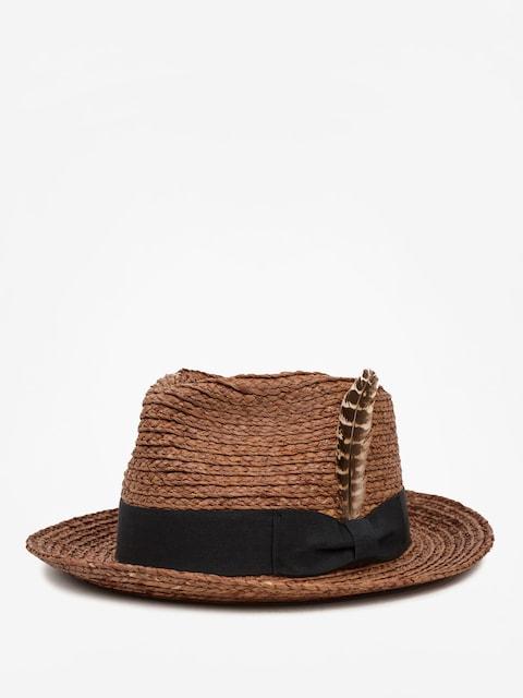 Kapelusz Brixton Crosby II Fedora (brown)