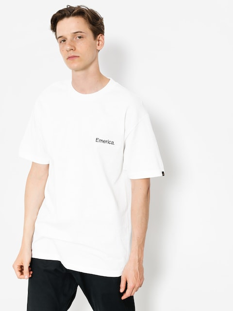T-shirt Emerica Pure Embroidery (white)