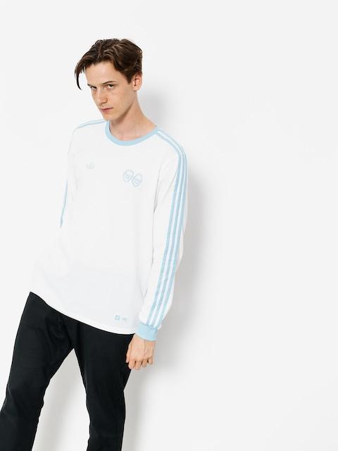 Longsleeve adidas Krooked (white/clear blue)