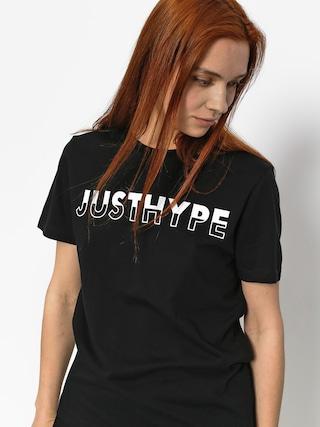 T-shirt Hype Justhype Half Wmn (black/white)